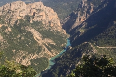 Verdon gorge - quite a ride!