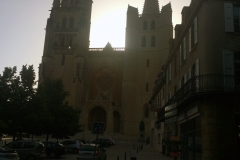 Early morning Mende cathedral