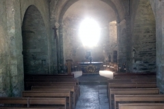 Road side church interior