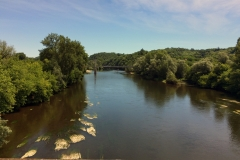 Our first view of the Dordogne