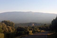 Mont Ventoux - the mountain we are NOT climbing!